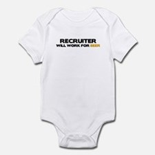 Recruiter Infant Bodysuit