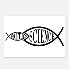 Science Trumps Faith Postcards (Package of 8)