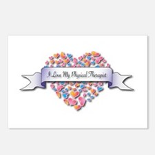 Love My Physical Therapist Postcards (Package of 8
