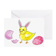 Happy Easter front/back Greeting Card