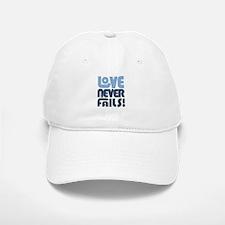 Love Never Fails Baseball Baseball Cap