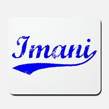Vintage Imani (Blue) Mousepad