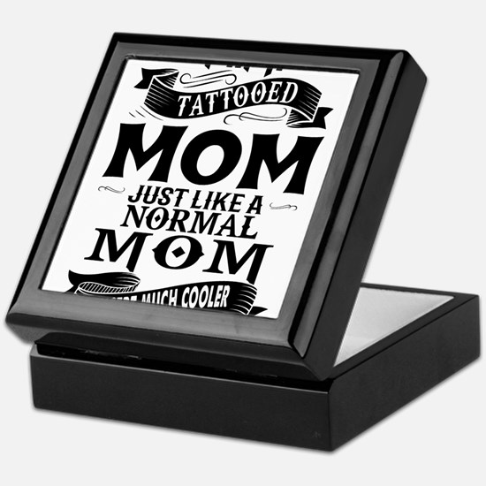 TATTOOED MOM Keepsake Box