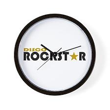 Disco Rockstar Wall Clock