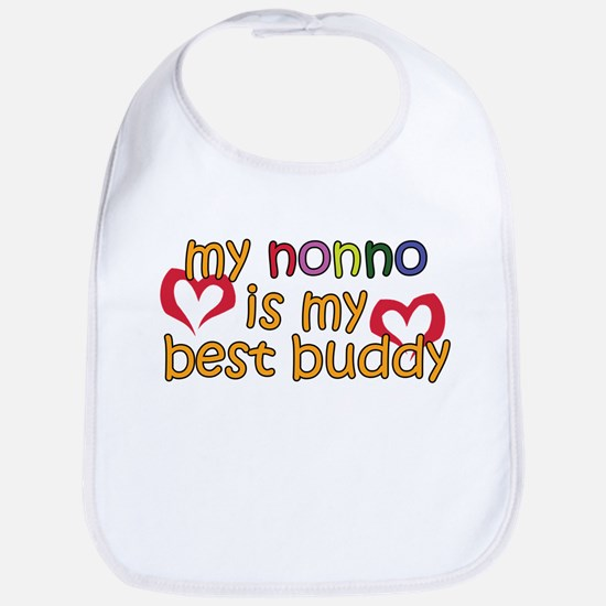 Nonno is My Best Buddy Bib