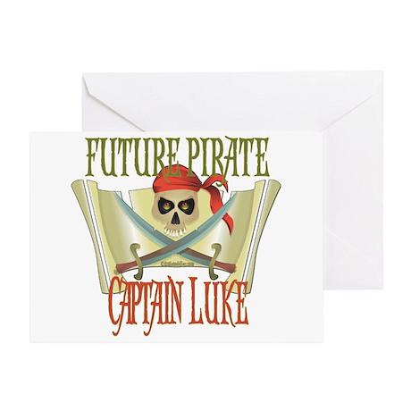 Captain Luke Greeting Card