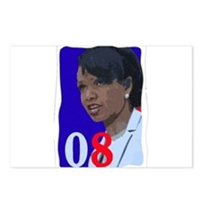 Cute Condi rice president Postcards (Package of 8)