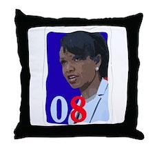 Cool Condi rice Throw Pillow