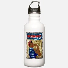 african rosie the rive Water Bottle