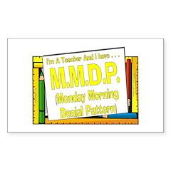 MMDP! (Yel) Rectangle Decal