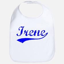 Vintage Irene (Blue) Bib