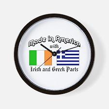 Irish-Greek Wall Clock