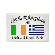 Irish-Greek Rectangle Magnet