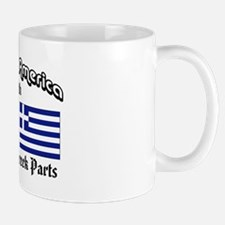 Irish-Greek Mug