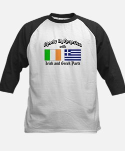 Irish-Greek Kids Baseball Jersey
