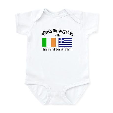 Irish-Greek Infant Bodysuit