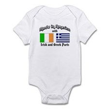Irish-Greek Infant Bodysuit