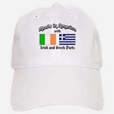 Irish-Greek Baseball Baseball Cap