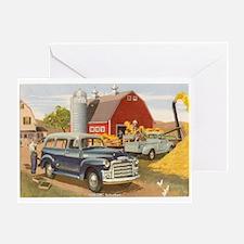 1954 GMC Suburban T-shirts & Greeting Card