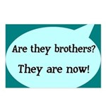They're Brothers Now! Postcards (Package of 8)