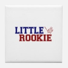 Little Rookie Baseball Tile Coaster