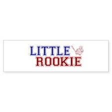 Little Rookie Baseball Bumper Bumper Sticker