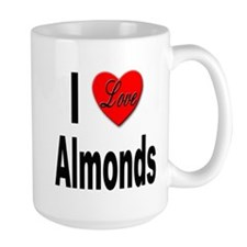I Love Almonds Mug