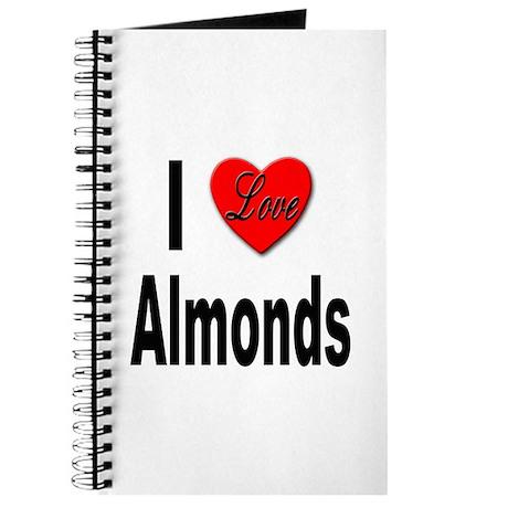 I Love Almonds Journal