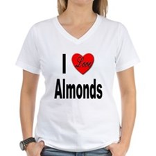 I Love Almonds (Front) Shirt