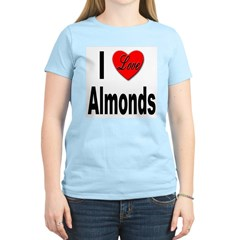 I Love Almonds T-Shirt