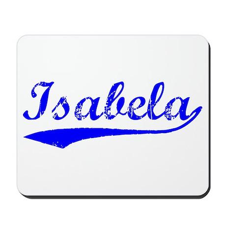 Vintage Isabela (Blue) Mousepad