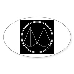 DiDECA Logo Oval Decal