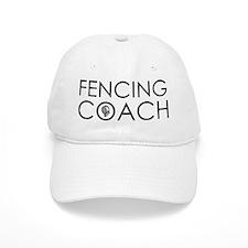 Fencing Coach Baseball Cap