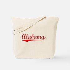 Vintage Alabama (Red) Tote Bag