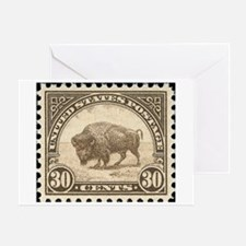 Stamps Greeting Card