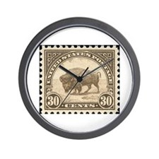 Cute Stamps Wall Clock