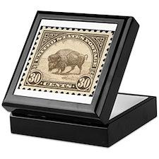 Cool Buffalo Keepsake Box