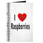 I Love Raspberries Journal