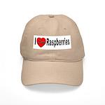 I Love Raspberries Cap