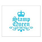 Stamp Queen BL Small Poster