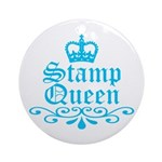 Stamp Queen BL Ornament (Round)