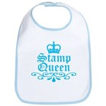 Stamp Queen BL Bib