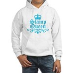 Stamp Queen BL Hooded Sweatshirt
