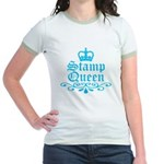 Stamp Queen BL Jr. Ringer T-Shirt