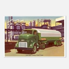 1949 GMC Tank Truck Postcards (Package of 8)