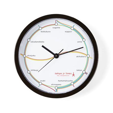 tokyo jr lines Wall Clock