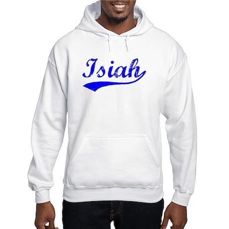Vintage Isiah (Blue) Hooded Sweatshirt