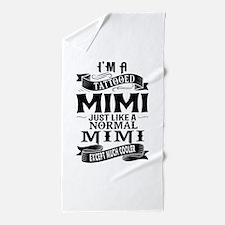 TATTOOED MIMI Beach Towel