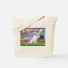Cloud Angel /Gr Dane (w) Tote Bag