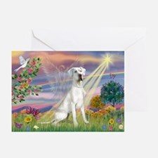 Cloud Angel /Gr Dane (w) Greeting Cards (Pk of 10)